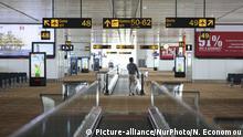 Indien Dehli Flughafen