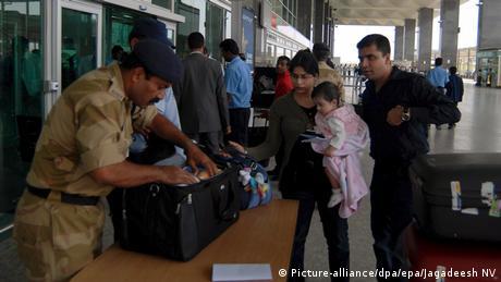 Indien Bengaluru Flughafen (Picture-alliance/dpa/epa/Jagadeesh NV)
