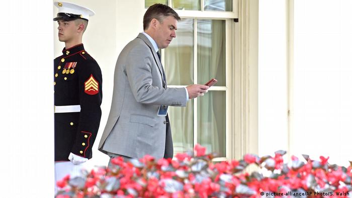 'Mooch' is Out, General In at White House