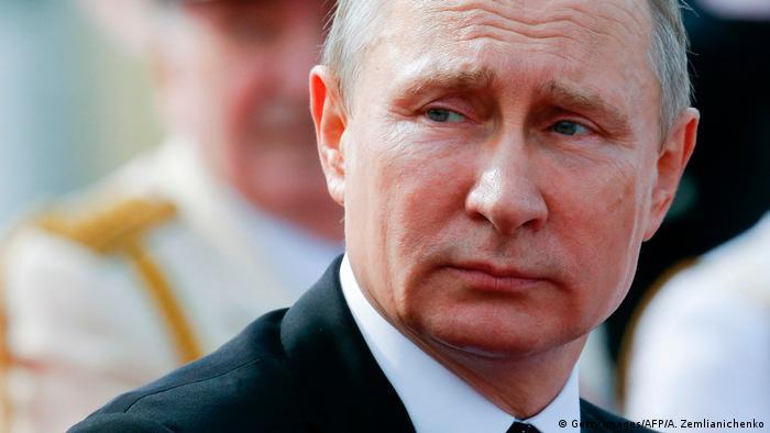 Russland Präsident Vladimir Putin (Getty Images/AFP/A. Zemlianichenko)