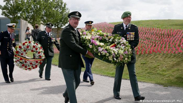World War I rememberance, Battle of Passchendaele (picture-alliance/empics/Y. Mok)