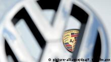 Emblem - VW Volkswagen und Porsche