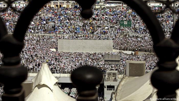 Mekka-Wallfahrt - muslimische Pilgerreise (picture-alliance/dpa)