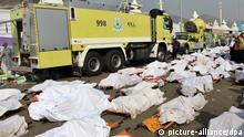 Mekka-Wallfahrt - muslimische Pilgerreise - Tote in Mina