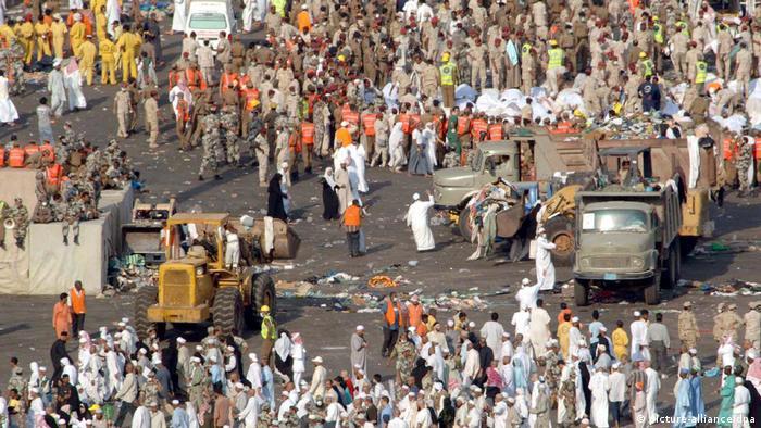 Mekka-Wallfahrt - muslimische Pilgerreise - Tote in Mina (picture-alliance/dpa)