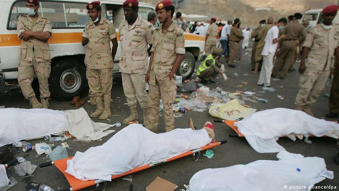 Mekka-Wallfahrt - muslimische Pilgerreise - Tote in Mena (picture-alliance/dpa)