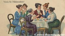Symbolbild - Damenkränzchen beim Kaffeeklatsch