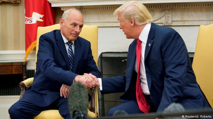 USA John Kelly wird neuer Stabschef von Donald Trump