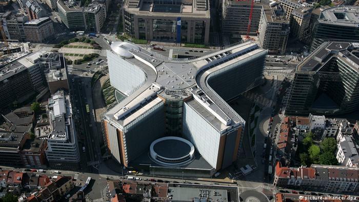 Das Berlaymont-Gebäude in Brüssel (Foto: dpa)