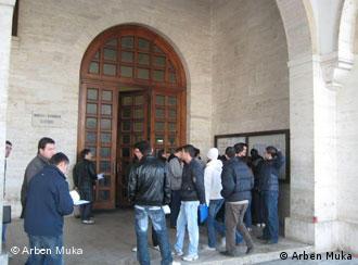 Studenten der Politechnischen Universität in Tirana