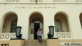 Angola Pressekonferenz über den Einsatz von EU-Beobachtern zu den Wahlen