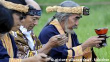 Japan - Ureinwohner - Ainu - traditionelle Zeremonie