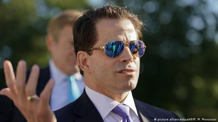 USA Trump feuert Anthony Scaramucci (picture alliance/dpa/AP/P. M. Monsivais)