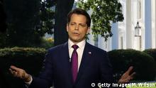 USA Trump feuert Anthony Scaramucci