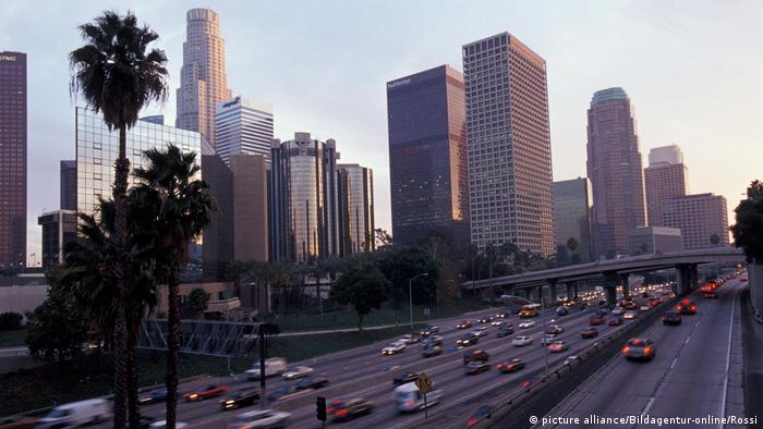 Los Angeles - Skyline (picture alliance/Bildagentur-online/Rossi)