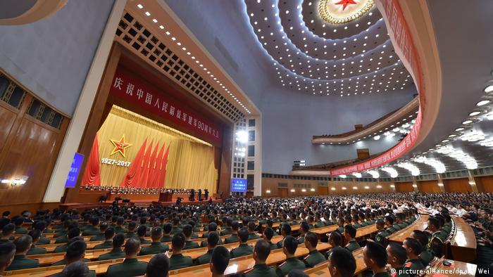 China 90. Jahrestag der Gründung der Volksbefreiungsarmee