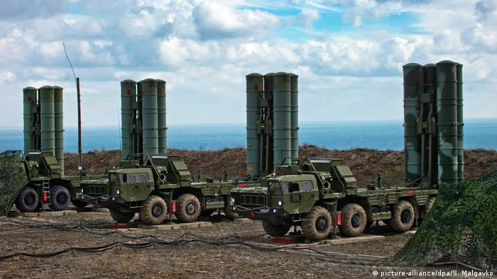 Russisches Raketenabwehrsystem S-400