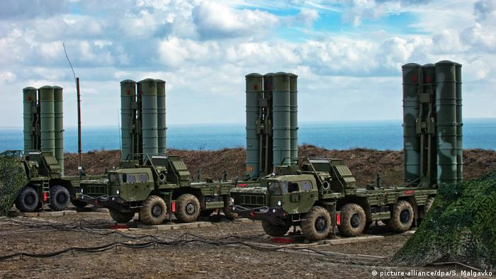 Four batteries of Russian S-400 anti-aircraft missiles.