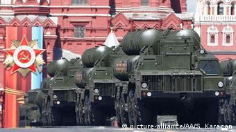 S-400 Rusya'nın başlıca orta menzilli hava savunma sistemi.