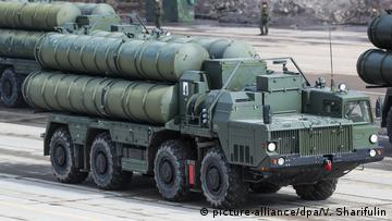 Russisches Raketenabwehrsystem S-400 (picture-alliance/dpa/V. Sharifulin)