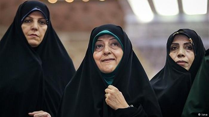 Iran | Kabinettsmitglieder | Shahin Molawerdi, Massumeh Ebtekar, Elham Aminzadeh (isna)