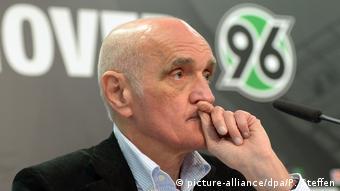 Deutschland Hannover - Martin Kind Präsident von Hannover 96