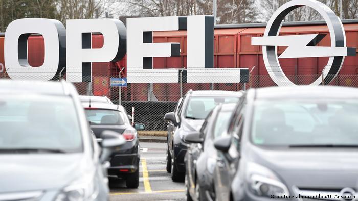 Кайзерслаутерн. Один из трех заводов Opel в Германии