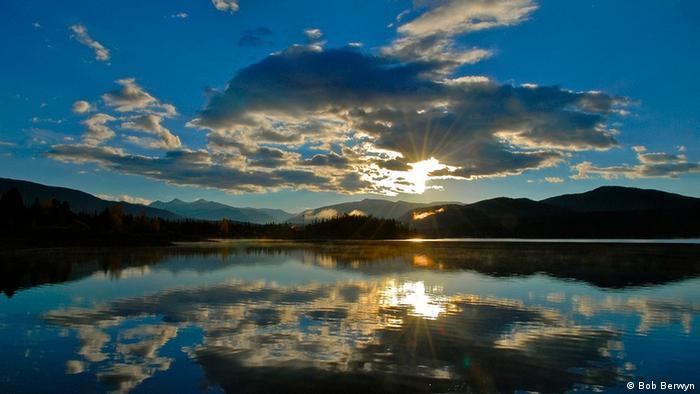 Озеро в США