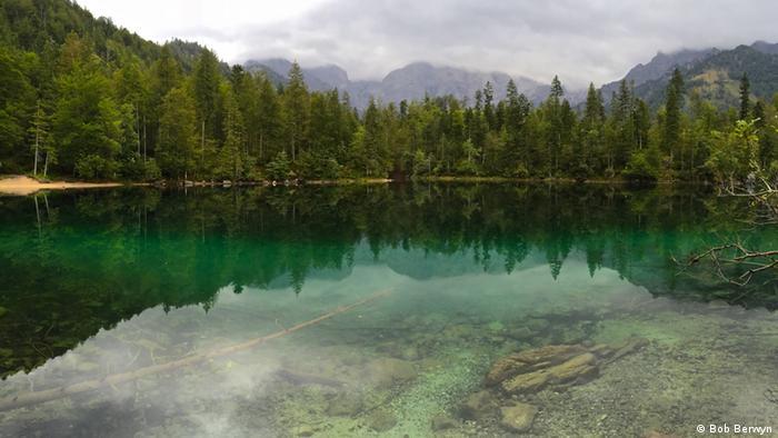 Temperaturanstieg in Seen Österreich Großer Ödsee