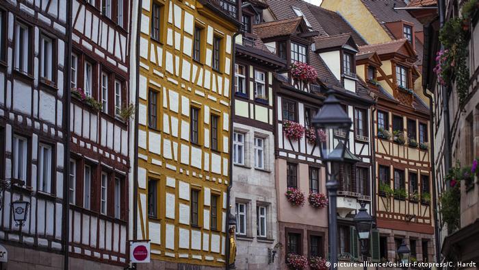 Deutschland Altstadt von Nürnberg (picture-alliance/Geisler-Fotopress/C. Hardt)