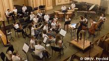 Ukrainisches Jugendorchester bei der Probe