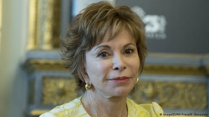 Spanien Madrid Buchvorstellung Isabel Allende