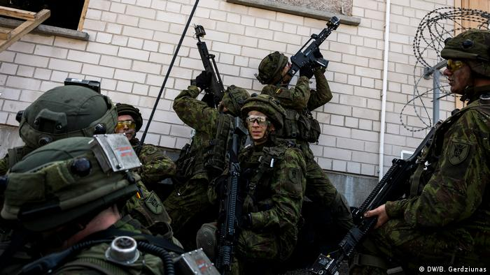 NATO in Baltics learns from Ukraine's mistakes