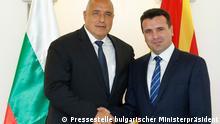 Bulgarien Sofia Nachbarschaftsvertrag