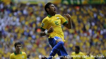Neymar, ícono de la selección de Brasil.