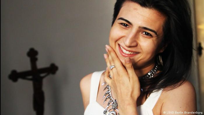 Queer dancer Emrah Atayev from Turkmenistan (LSVD Berlin Brandenburg)