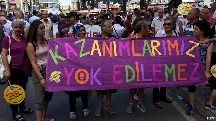 Türkei Istanbul Demonstration