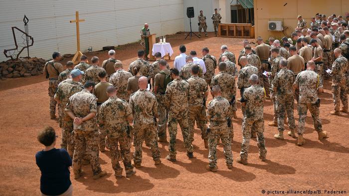 Mali memorial service