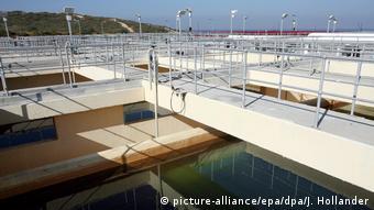 La planta de desalinización de agua de mar Via Maris, en Israel.