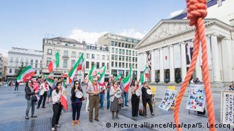 Belgien Protest Gegen die Todesstrafe