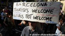 Spanien Proteste gegen Tourismusmanagement in Barcelona