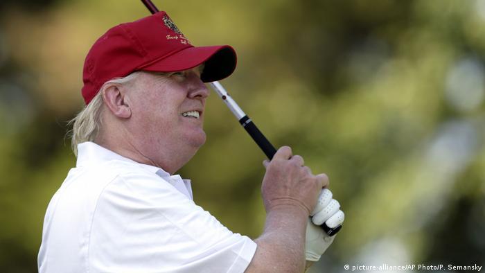 Donald Trump beim AT&T National Golf Tournament 2012