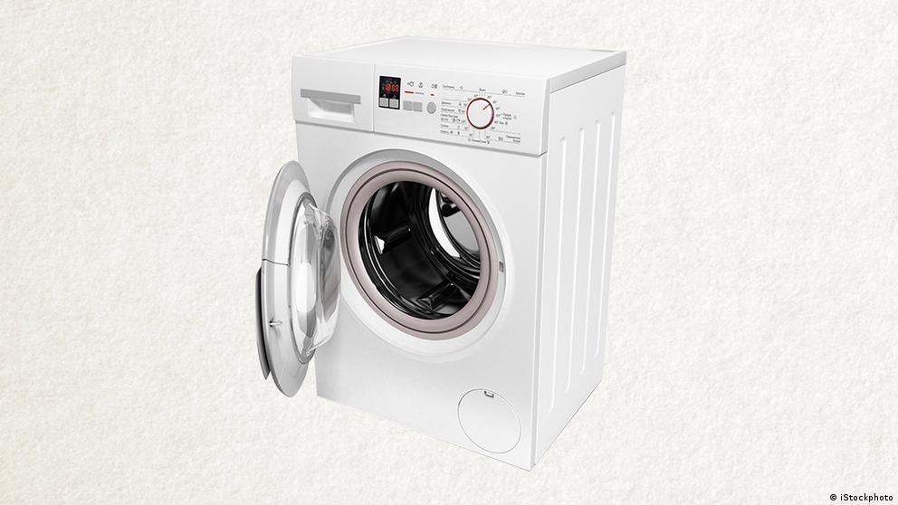 Deutschkurse | Wortschatz | WBS_Foto_Waschmaschine