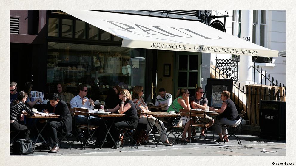 Deutschkurse   Wortschatz   WBS_Foto_Café