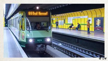 Deutschkurse | Wortschatz | WBS_Foto_U-Bahn