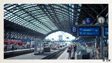 Deutschkurse   Wortschatz   WBS_Foto_Bahnhof