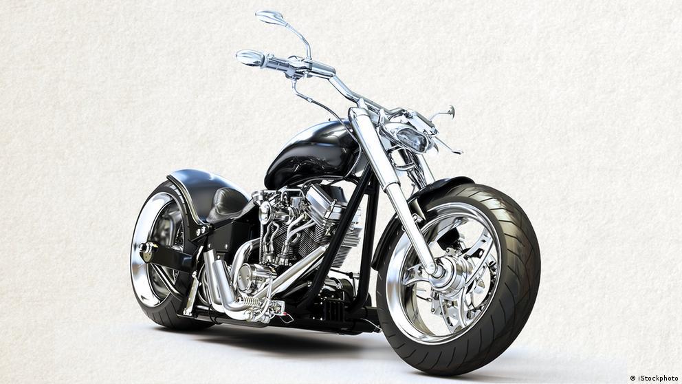 Deutschkurse | Wortschatz | WBS_Foto_Motorrad