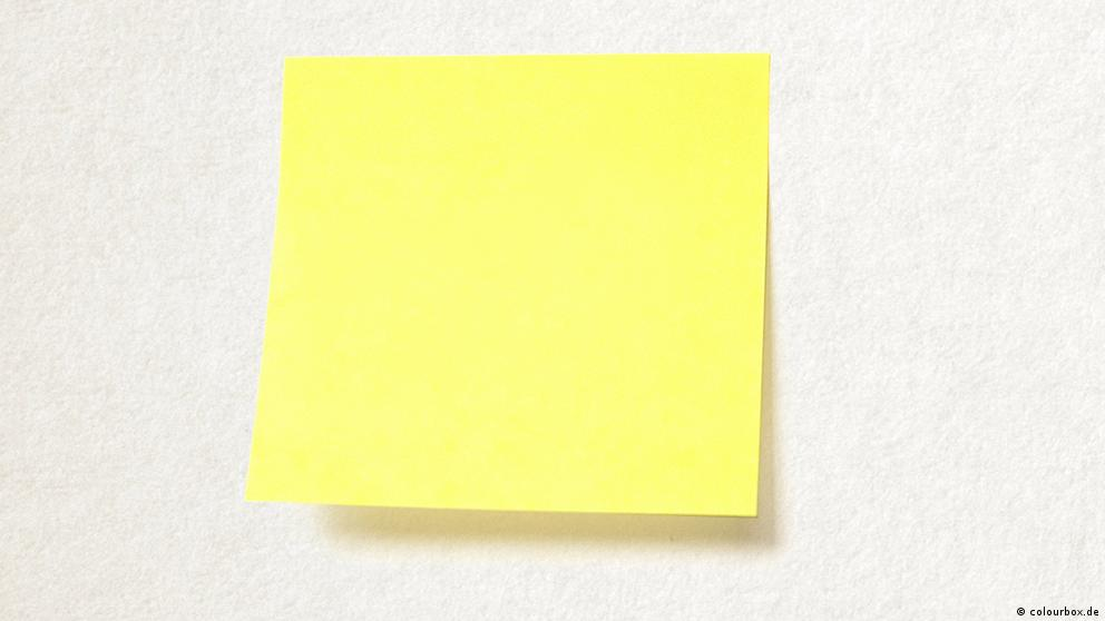 Deutschkurse | Wortschatz | WBS_Foto_Post-It