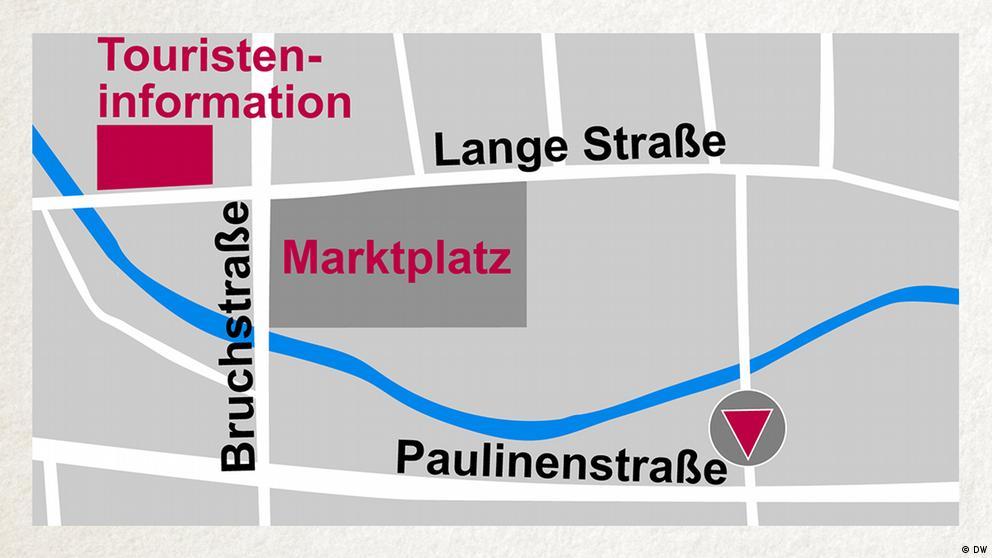 Deutschkurse | Wortschatz | WBS_Foto_Stadtplan