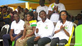 Ruanda Wahlkampf | Grüne Partei, Präsidentschaftskandidat Frank Habineza